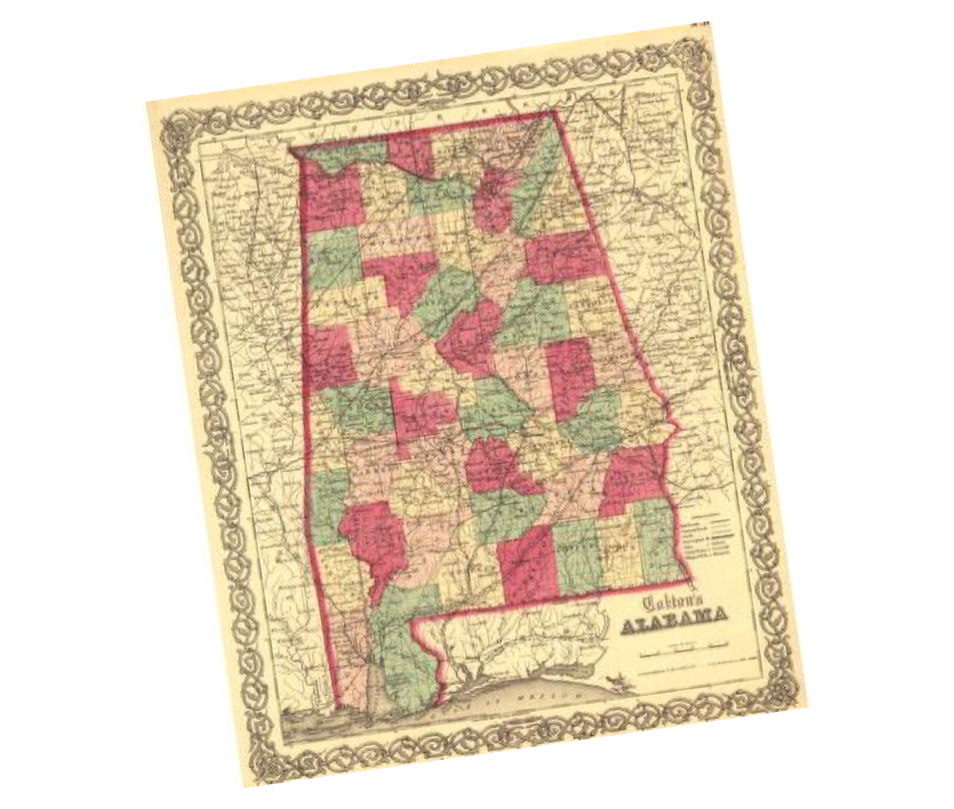 1861 Alabama Civil War Map on battle of games, west florida maps, battle of social media, american revolutionary war maps, valley forge maps,